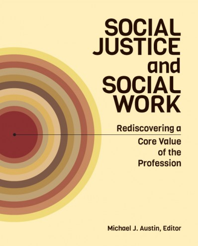 Cover design for Social Welfare book.