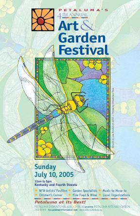 Art & Garden Poster 2005