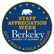 UC Berkeley Staff Appreciation Week.